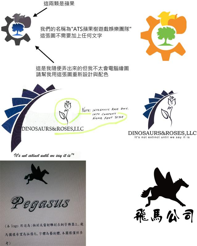 商標草圖例子   01